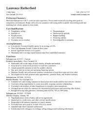 best sperson resume example livecareer create my resume