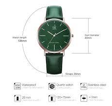 <b>Shengke</b> Genuine Leather <b>Women Watches</b> Leather Surface <b>Quartz</b> ...