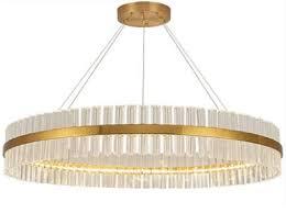 <b>Люстра подвесная ELVAN</b> 00112-400-76W, LED, brass color