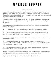 easter rabbit news awareness markus lupfer legal statement