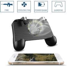4 in 1 F1 <b>PUBG</b> 2000mAh Mobile <b>Game Controller Gamepad</b> L1R1 ...