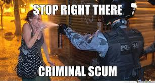 Criminal Scum by wesleyronald666 - Meme Center via Relatably.com