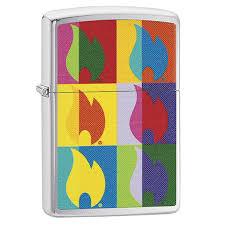 <b>Зажигалка</b> Zippo 29623 <b>Abstract Flame</b> Design - Portfelchik