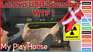<b>Lenovo</b> USB Soundbar - I am Rather Disappointed - 1014 - YouTube