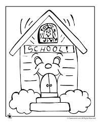 Small Picture School Coloring Pages Woo Jr Kids Activities