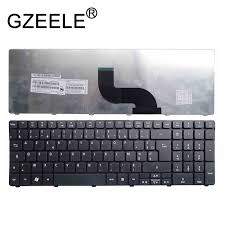 GZEELE <b>FR French Keyboard FOR</b> Packard Bell NE71B Q5WTC ...