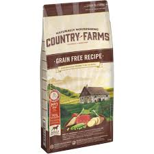 <b>Country Farms</b>™ Grain Free Recipe <b>Adult Dog</b> Food Rich in Beef