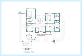 Sq  feet contemporary villa plan and elevation   Kerala home    Ground floor plan