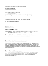 bibliography mla style wellington library learning commons in text book