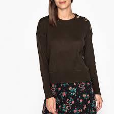 <b>Пуловер</b> с круглым вырезом из тонкого трикотажа из <b>шерсти</b> и ...