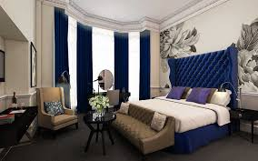modern architectural design of the glamorous contemporary bedroom that has black modern floor can be decor blue white contemporary bedroom interior modern