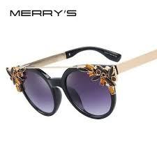Diamond Sunglasses Designer Crystal <b>Cat Eye</b> Frame Women ...