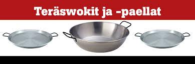 Стальные <b>сковороды для паэльи</b> и ризотто