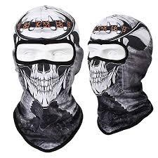 Mask <b>Motorcycle Face Mask</b> Cool Robot Skeleton <b>Halloween Mask</b> ...