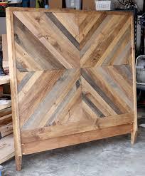 Diy Wood Headboard How To Build A Diy West Elm Alexa Bed