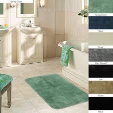 bathroom target bath rugs mats: size  bathroom mat sets plush  x  non skid bath rug set of  l x