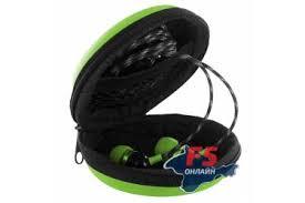 <b>Чехол Krutoff для</b> внутриканальных наушников (зеленый) в ...