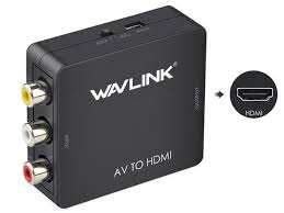 Wavlink <b>1080P</b> Mini <b>AV to</b> HDMI Converter Adapter RCA Composite ...