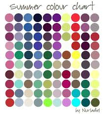 Pin by Art Cage on KLEUR | <b>Summer colors</b>, Color analysis ...