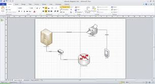 import microsoft visio diagrams into ibm rational software    basic network diagram page