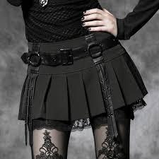 <b>Punk Rave women's</b> Lolita Nana <b>Skirt</b> Visual Kei Korea Fashion ...