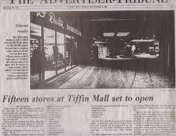 tiffin mall exploration ohio forgotten