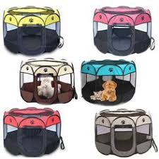 <b>Portable Folding Pet</b> Carrier Tent Dog House Playpen Cage Dog ...