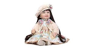 22 Handmade <b>Baby Girl Doll Silicone Vinyl Reborn</b> Dolls: Amazon ...