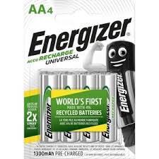 <b>Аккумулятор ENERGIZER Universal NH15/AA</b> 1300 BP4 Pre-Ch (4 ...