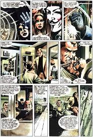Resultat d'imatges de ressenya v de vendetta comic