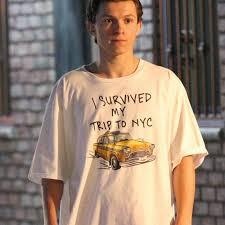 Summer Loose T-shirts 3D Print Tees <b>I Survived My Trip</b> To NYC ...