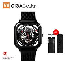 Xiaomi <b>CIGA Design Men</b> Automatic <b>Mechanical</b> Analog Watch Full ...