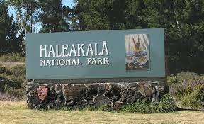 Image result for sign of haleakala national park