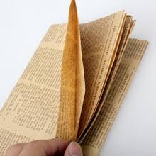 Винтажная <b>бумага для упаковки</b> газет, подарочная упаковка ...