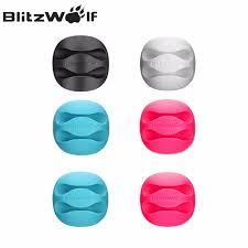 Интернет-магазин BlitzWolf 6 шт./лот Desktop Кабельный Зажим ...
