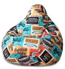 <b>DreamBag Кресло</b>-<b>мешок</b> Лейбл <b>XL</b> — купить по выгодной цене ...