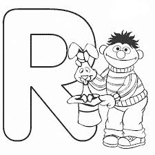 Small Picture Sesame Street Alphabet Coloring Pages Coloring Coloring Pages
