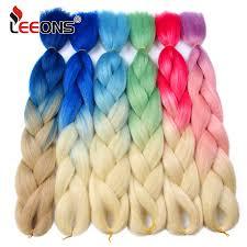 Leeons 82 inch Long Crochet <b>braiding Hair</b> 165g Jumbo <b>Braid Hair</b> ...