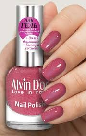 """Ягодный с шиммером гель-<b>лак для ногтей</b> """"Alvin Dor"""" №1696 ..."""