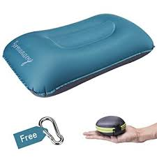Bermunavy Camping <b>Pillow</b>, <b>Inflatable Pillow Travel Pillow</b> - <b>Air</b> ...