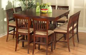 tall dining chairs counter: kitchen rectangular counter height dining room table table brilliant tall dining room chairs is also middot kitchen