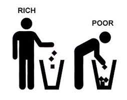 Removing money from the rich and give to the poor poorer generates