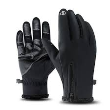 Windproof Waterproof Cycling Full Finger Gloves <b>Touch Screen Bike</b> ...