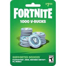 Fortnite: 1000 V-bucks Gift Card : Target