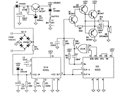diesel sound effect generator circuit schematic diagram   circuit    diesel sound effect generator circuit schematic diagram