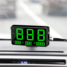 C80 <b>Digital Car</b> GPS Speedometer Speed Display KM/h MPH For ...