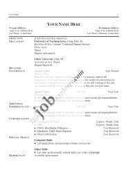 resume templates blank resumes fill in printable in  gallery blank resumes fill in blank printable resume resume in 87 excellent blank resume templates