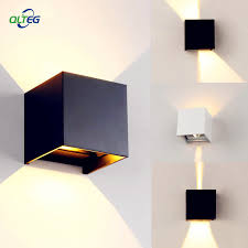 Modern Brief Cube Adjustable Surface Mounted <b>LED Wall Lamps</b> ...