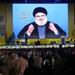 Nasrallah seeks to calm sanctions nerves with fiery warning to Israel