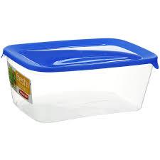 "Емкость для заморозки и СВЧ <b>Curver</b> ""Fresh & <b>Go</b>"", цвет: синий, 3 л"